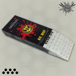 BIG WASP Pro Tattoo Needles Magnums 50 PCS