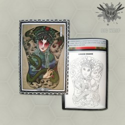 Zhong Guo Yin III - Tattoo Art Flash Book