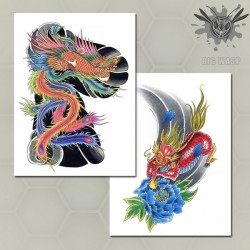 Zong Kai Tattoo - Tattoo Art Flash Book