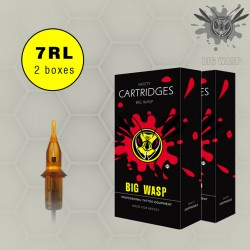 BIG WASP Premium Cartridges 7 Round Liners 3 Boxes SALE