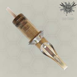 Brown BIGWASP Cartridge Needles-Soft Edge Magnums