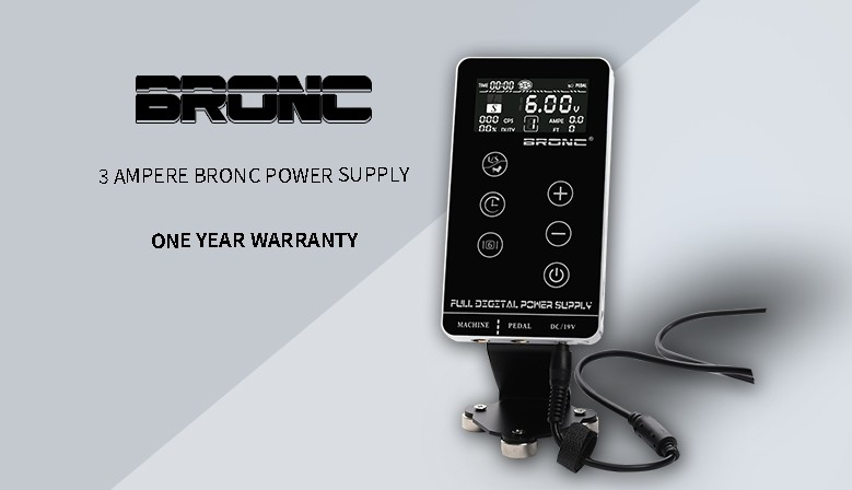 3A Bronc Power Supply